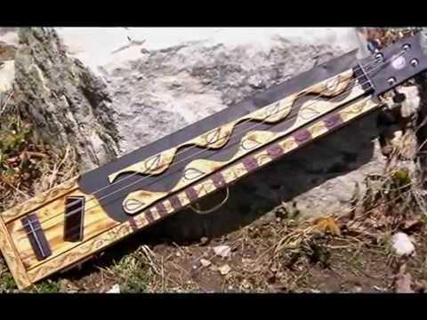 swamp witch guitars LAP CAT bass guit hybrid