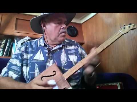 Kristoff Cigar Box guitar Rollin n Tumblin