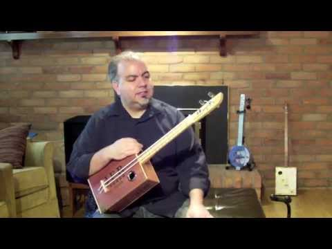 Cigar Box Bass Ukulele