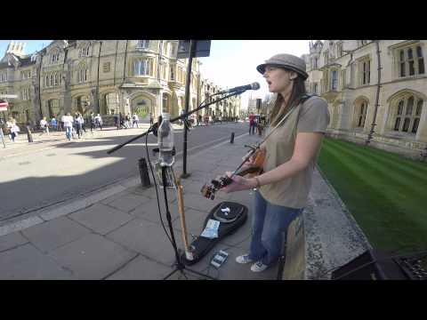 The Line - Busking, King's Parade, Cambridge
