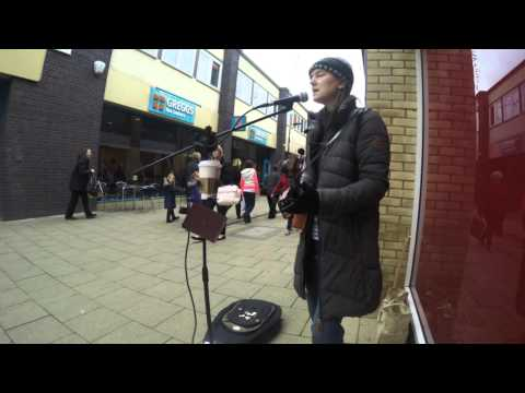 The Enemy - Busking Version - Chequers Court, Huntingdon