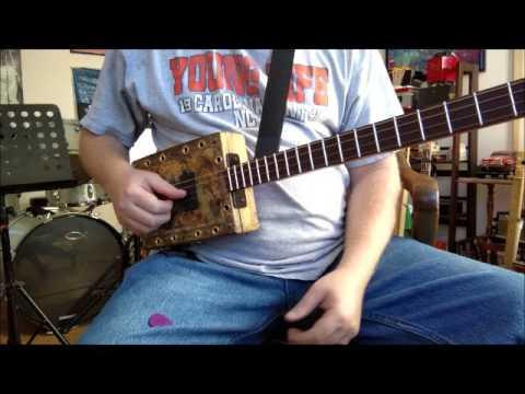 Denton Music Cigar Box Guitars - Hannah's Box #7