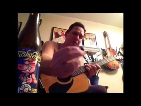 Homemade bottle cap guitar pick!