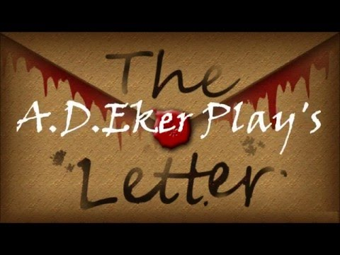 The letter     A D Eker 2016