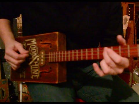 Folsom Prison Blues 3 String Guitar Lesson - How to play Folsom Prison Blues
