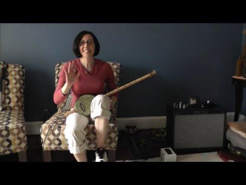 Ceramic Guitar Demo - 2 String Pod Chugger CBG