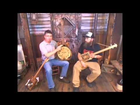 Cigar Box Nation TV (06/07/16) - A. J. Gaither, 4-string Tunings, Cigar Box Tambourine