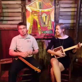 Cigar Box Nation TV: C. B. Gitty Newspaper Interview + Slide Blues Lesson