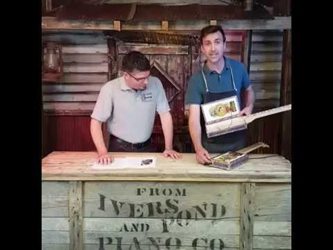 Cigar Box Nation TV (6/1/16) - Mini Humbucker Installation in the Mi Amor