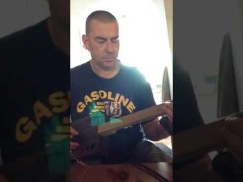 'Barnyard' 3 String Box Guitar...