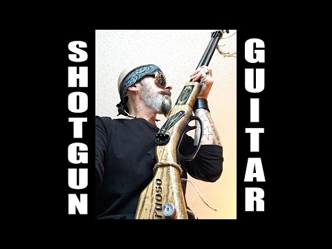 ShotGun Guitar Swamp Rock Music Christopher Ameruoso