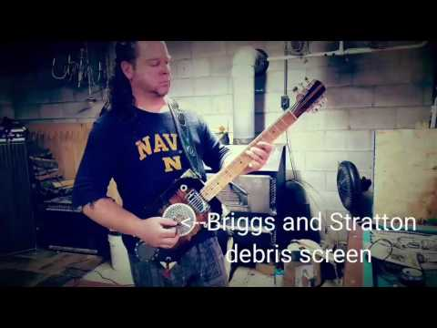 Angry Rooster Guitars and Curt Heaton playing #15, the Briggs and Stratton special!