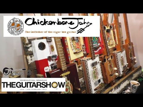 Chickenbone John @The Guitar Show, Birmingham 2017 - with JT Guitar
