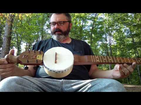 Another walking stick banjo.
