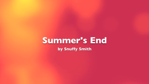 Summer's End by Snuffy Smith