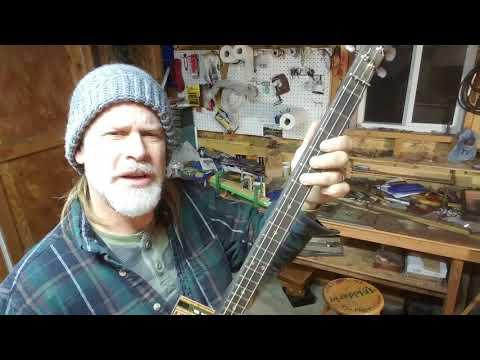 Hendrix Chord - for 3 string CBG