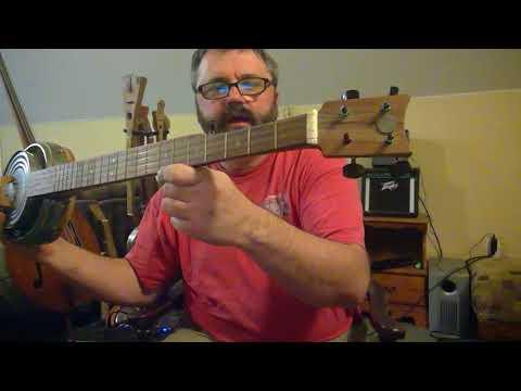 Electric Tin Can Banjo