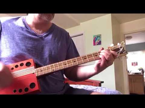 Cigar box guitar cover
