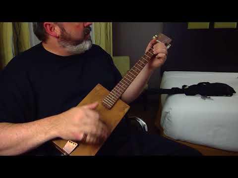 motel hell - Murdering Hotel California on CBG (cedar box guitar)