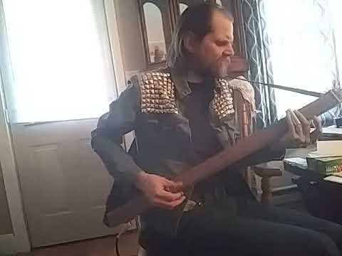 "Cigar Box Guitar cover of ""Soul Shine"""