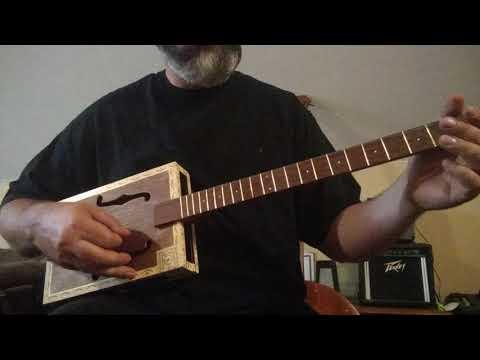 Acoustic Cigar Box Guitar #41