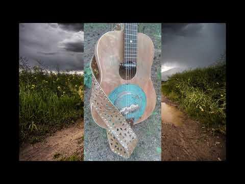 Rain Song - Led Zeppelin cover on Patina Copper Resonator
