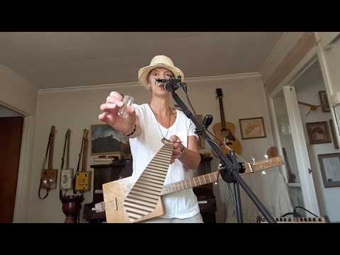 Even A Bad Road Movie Is Good - Demo -  3 String Cigar Box Guitar