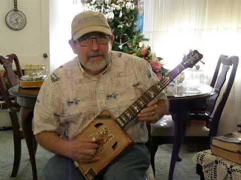 "Cigar Box Banjo #9- ""I Surrender All"""