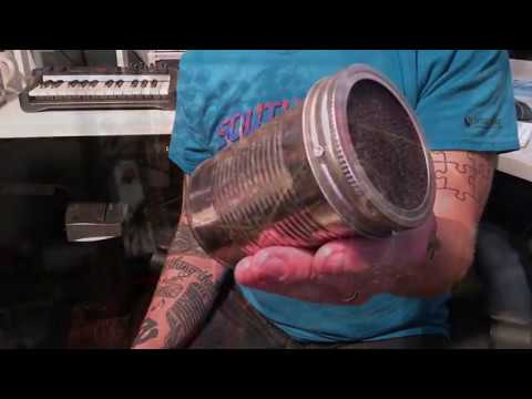 Homemade Soup Can Microphone