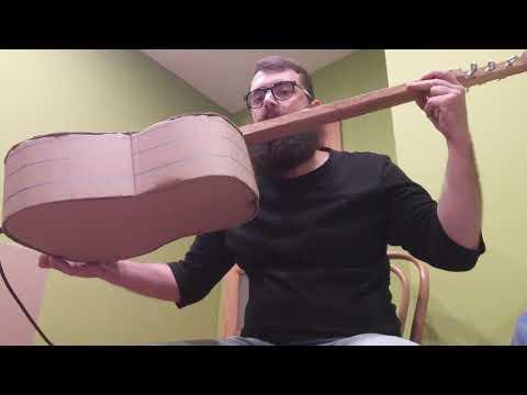 Kartone cardboard guitar