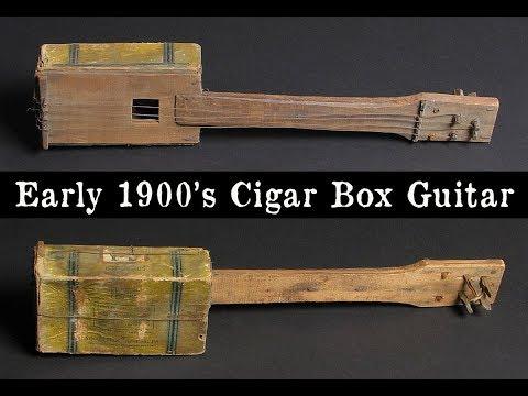 Acoustic Cigar Box Guitars & Resonator 3 strings -