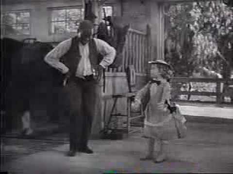 Bill Bojangles Robinson and Shirley Temple