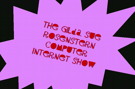 The Gilda Sue Rosenstern Computer Internet Show- Nancy Grace