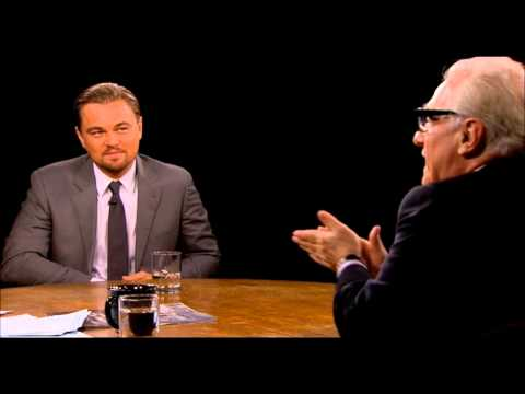 Leo DiCaprio and Martin Scorsese Charlie Rose Full Interview The Wolf of Wall Street