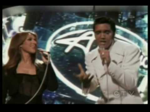 Elvis and Celine Dion