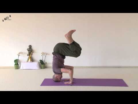 Crow (Crane) to Headstand