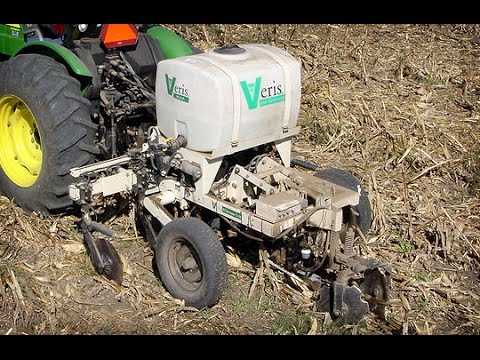 Veris Soil Sensing Technologies and High Accuracy Soil Data Mapping Technology