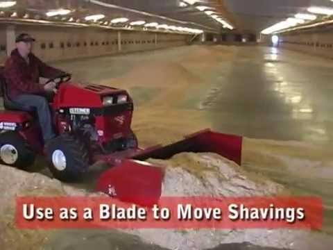 Spread-Rite Shaving Spreader For Poultry Barns