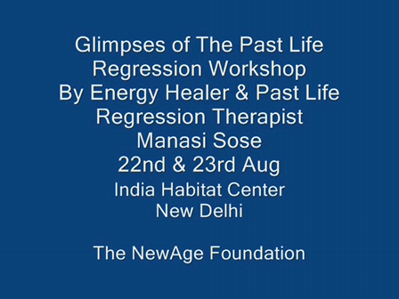 Past Life Regression Workshop Introduction