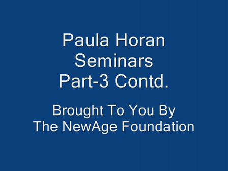 Paula Horan Seminars- Concluding Part