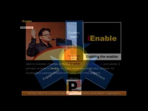 Indroneil speaks on iEnable