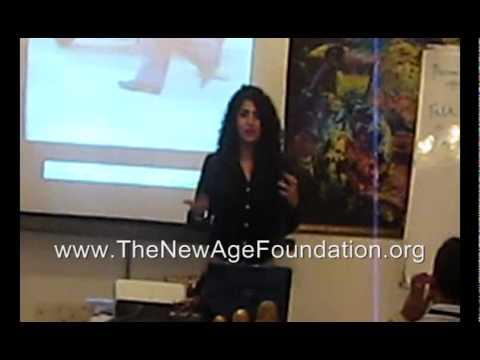 At a 1 day seminar By Suresh Padmanabhan, Ritambhara introduces The NewAge Foundation