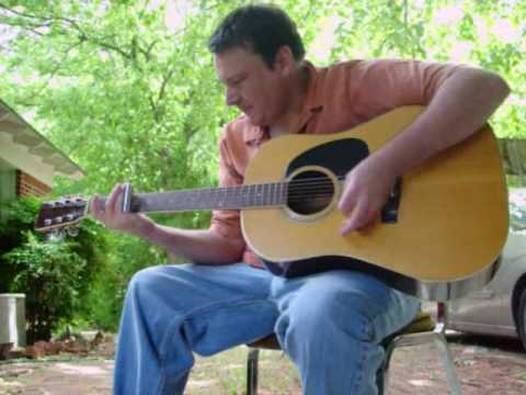 """Frantic Gypsy Lost in the Mississippi Delta"" acoustic slide guitar Mark Stowe"