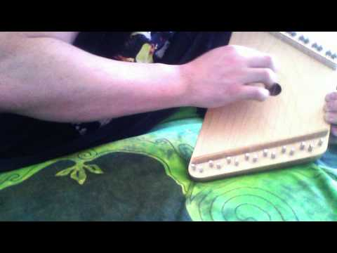 mrjonthehat d:oP - 'Call Me', on the home made ZITHER !