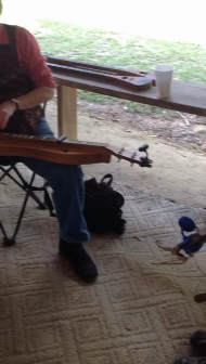 Me and dulcimer jammin