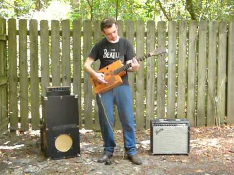 Crocker Ragpicker guitar demo by Ragpicker Allen