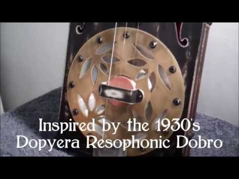 Resonator Cigar Box Guitar Parts