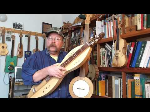 Waterbound - old version played on mountain banjo and Appalachian dulcimer