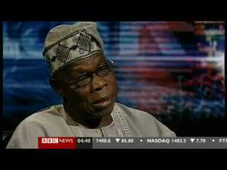 Obasanjo on HardTalk