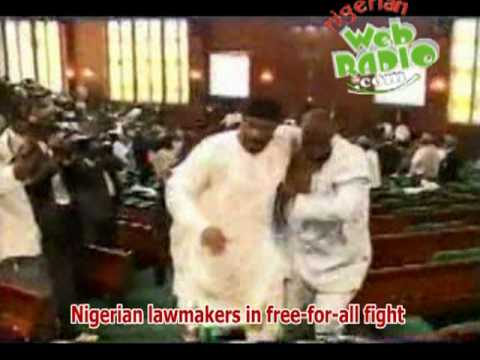 Nigerian Lawmakers in a Show of Shame